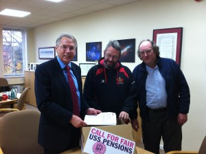 Prof Don Nutbeam accepts the UCU petition against USS pension changes