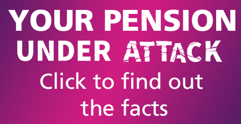 Your pension under attack - click to find out the facts
